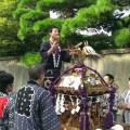 毎年、森野中央町内会の神輿を担いでいます