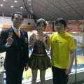わんぱく相撲町田場所でJ-COMさんの取材、カブトムシゆかりちゃんと